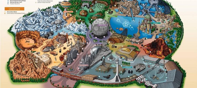 Lucas World: los parques temáticos de Star Wars