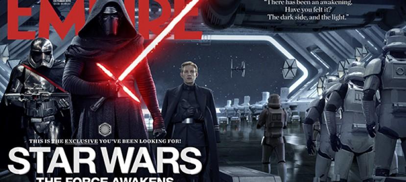 Star Wars en la portada de la revista Empire