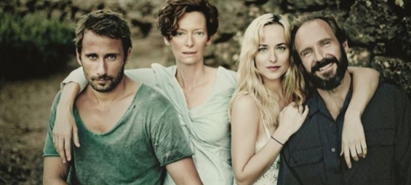 Tilda Swinton y Ralph Fiennes en «A Bigger Splash»  (imágenes)