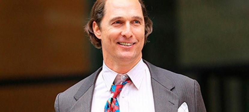 Matthew McConaughey como no lo habíamos visto