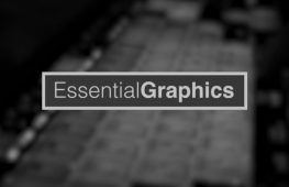 Presentando Essential Graphics Panel de Premiere Pro