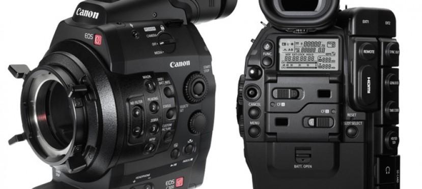 Canon EOS C300: primer vistazo