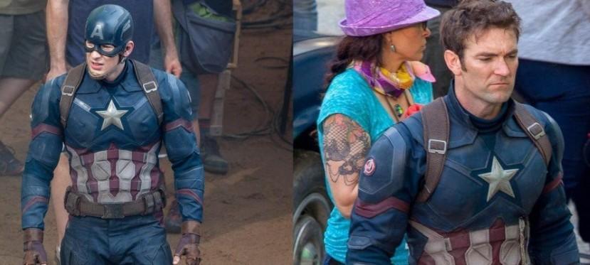 Capitán America Civil War: imágenes detrás de cámara